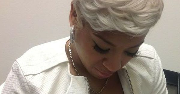 Keyshia Cole Short Hairstyles
