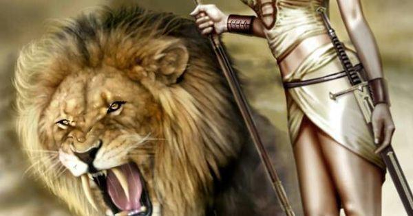 Deviantart Lion Warrior: Goddess & Warrior's