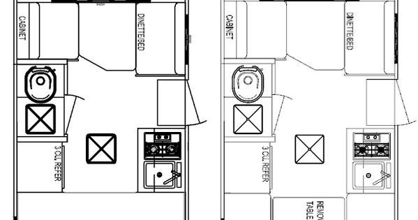 shasta camper floor plans
