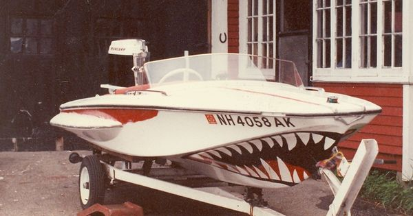 Shark Mouth Paint Job Boat Shark Mouth Two 1 Jpg