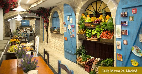 La Rollerie Calle Mayor Terrazas Madrid Restaurantes Unicos Calle Mayor