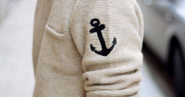 Nautical men's fashion!