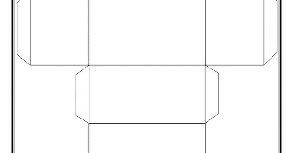 Monster image regarding rectangular prism net printable