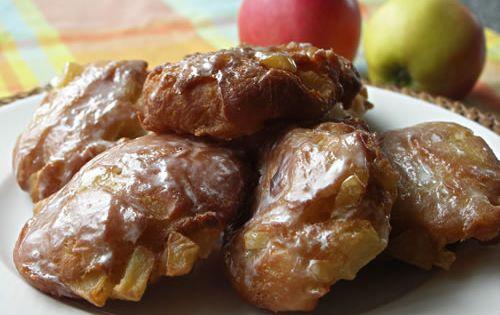 Apple Fritters a la Dunkin Donuts RECIPES [COPYCAT