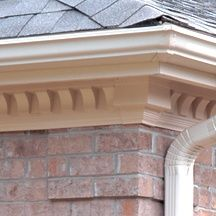 Scalloped Dentil Trim With Images House Exterior Cornice