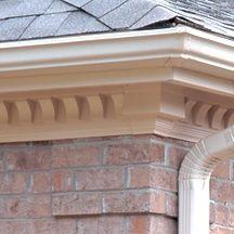 Scalloped Dentil Trim Cornice Design House Exterior Dentil Moulding