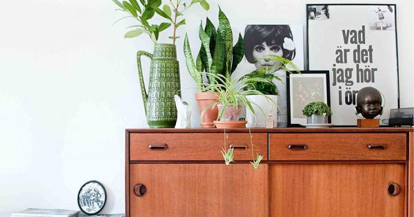 Woonhome woontrends sandinavian retro botanisch interieur 2015 renovation inspiration - Volwassen kamer kleuren ...