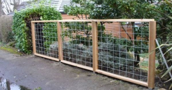 Image of: Wire Trellis with Wood Frame - 51 Best Hog Wire Fences & Arbors Images On Pinterest Wire Fence