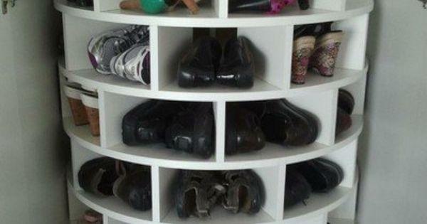 LazySusan shoe rack