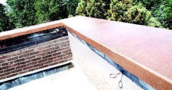 Fiberglass Parapet Wall Roof Cap Waterproofing Roof Cap Parapet Roof