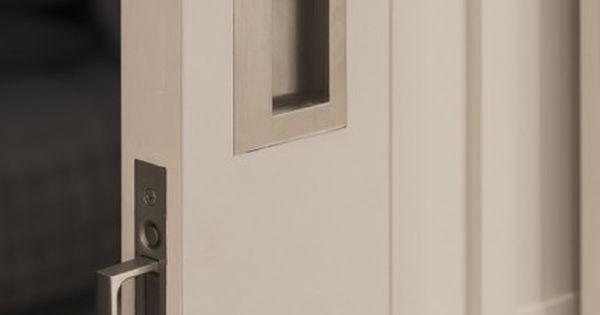 attic ideas pinterest - Joseph Giles sliding door pulls in brushed nickel finish