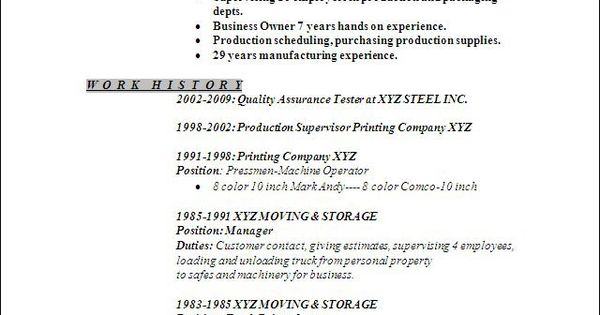 warehouse-worker-resumejpg (640×838) wearhouse resume Pinterest - how to write a resume for a 14 year old