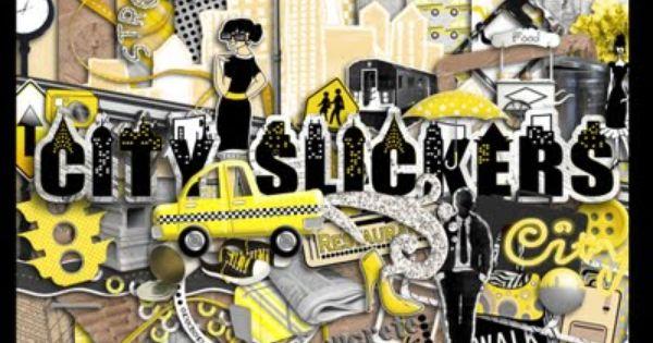 City Slickers Re Release Free Digital Scrapbooking Kit Download Free Digital Scrapbooking Kits Free Digital Scrapbooking Digital Scrapbooking Freebies