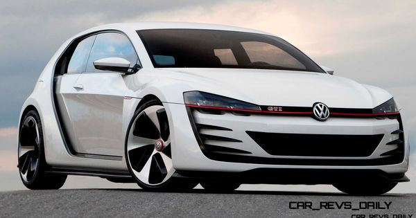 Concept Flashback 2013 Vw Design Vision Gti Wants To Eat Your