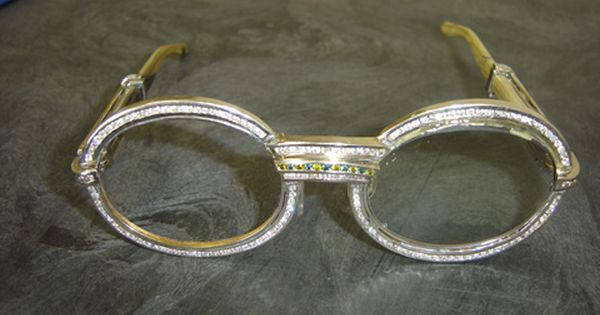 Diamond Cartier Glasses Just F Haute Pinterest