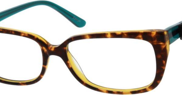 Womens Tortoiseshell 3007 Acetate Full-Rim Frame with ...