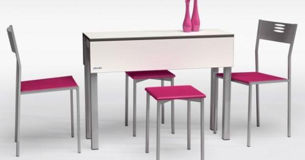 Comprar online mesa peque a piccola cancio blanca y con for O kitchen mira mesa