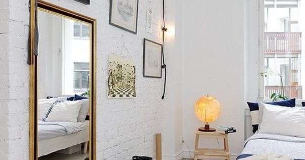 Brighten up your bedroom 8 super stylish lighting ideas for How to use mirrors to brighten a room