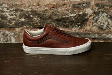 Vans Leather Pack Zima 2016 Mens Vans Shoes Vans Shoes Outfit Brown Leather Shoes