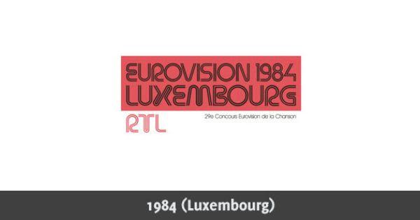 Eurovision Song Contest 1984 Logo Eurovision Song Contest