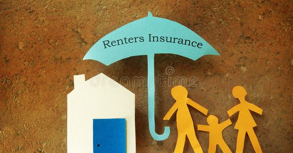 Renters Insurance Paper Cutout Family With House Under Renters
