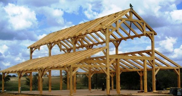 Texas timber frame barns hermes barn completed post for Texas pole barns