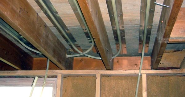 Thermofin C And Thinfin C Are Installed Between The Joists