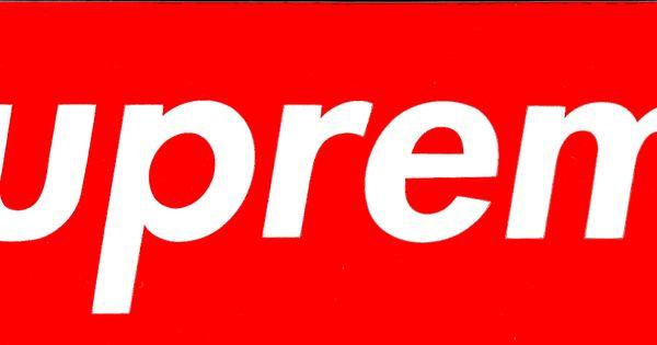Supreme Box Logo | Design | Pinterest | Logos And Awesome Art