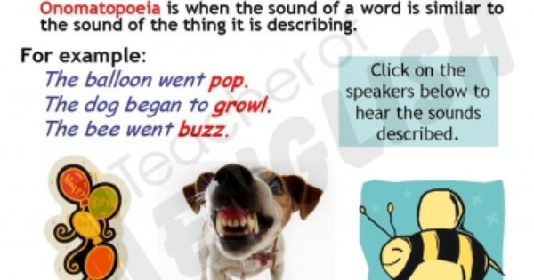 Sentence Examples Of Onomatopoeia Image Collections Example Cover