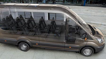 passenger vans custom made 2015 ford transit 15. Black Bedroom Furniture Sets. Home Design Ideas