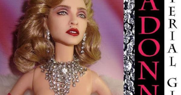 Madonna Material Girl Doll With Images Madonna Material Girl