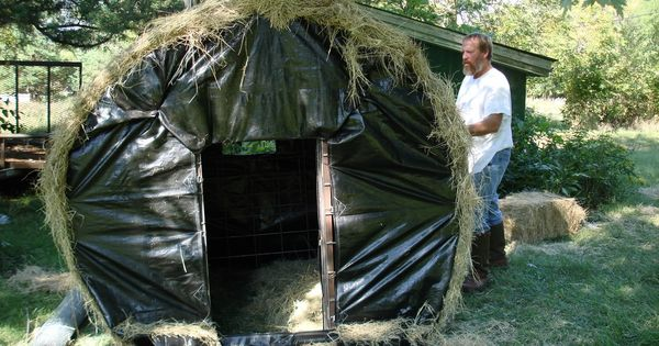 Homemade Bale Blind Photos Texas Hunting Forum