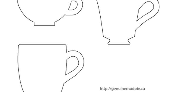 a quick cup of tea cute bookmarks including teacup templates printables pinterest paper. Black Bedroom Furniture Sets. Home Design Ideas