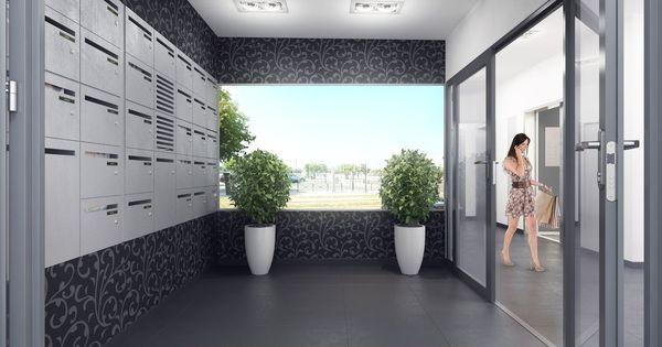 perspective 3d hall immeuble babylone communes pinterest immeuble perspective et 3d. Black Bedroom Furniture Sets. Home Design Ideas