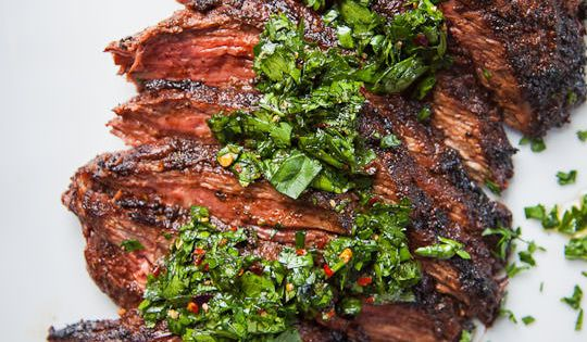 would be great for some Father's Day grilling! Skirt Steak Recipe with