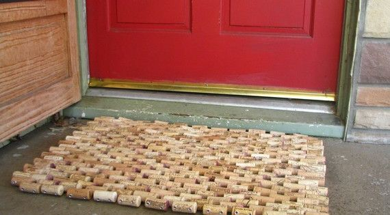 Recycled Wine Cork Doormat By Sarahracha On Etsy 120 00