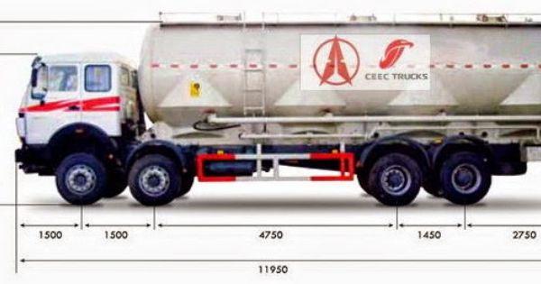 Best Beiben 2534 All Wheel Drive Beiben 6 6 Drive 340 Hp Bulk Cement Tanker Truck Tanker Trucking Trucks Cement Truck