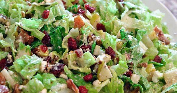 Autumn Chopped Salad Recipe Autumn Chopped Salad Ingredients *6 to 8 cups