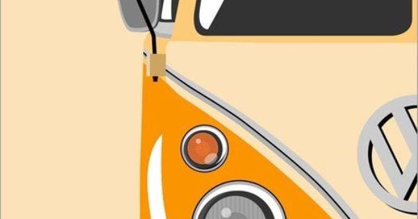 Vw Bus Volkswagen Pinterest Tatueringar Och Inspiration