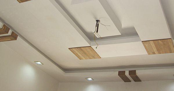 False Ceiling - Ceiling Fan Installation #ceilingfan #fan ...