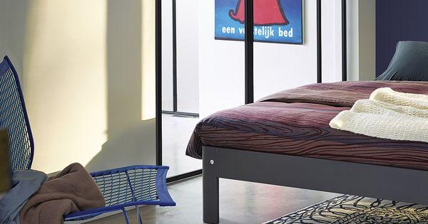 Slaapkamer Jaren 50 : Auronde leigrijs met een echte Auping poster uit ...
