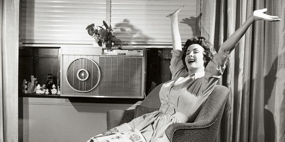 Vintage Ad For Modern Air Conditioning In The 1950 S Smart Air