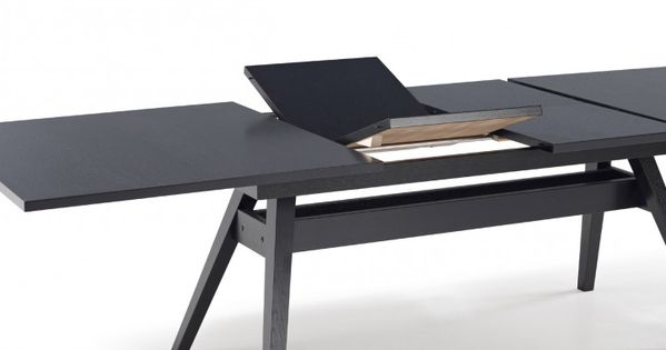 The Skovby 11 Dining Table Has A Unique Extension Mechanism From 6 12 Seati
