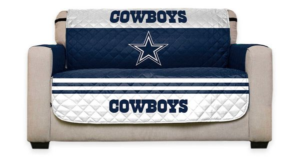 Dallas Cowboys Recliner Chair: NFL Reversible Furniture Protector