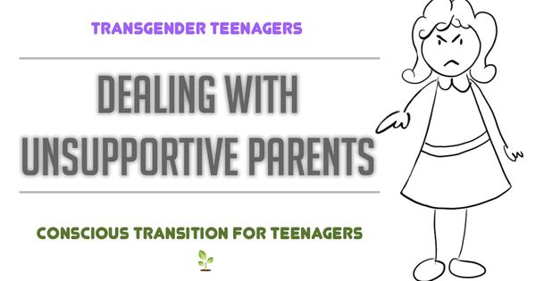 """Transition for transgender teenagers """"How to deal with"""