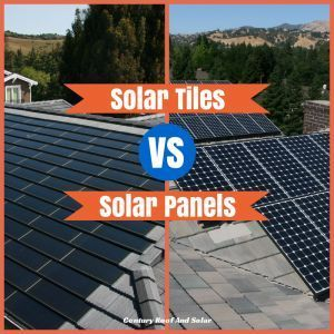 Solar Tiles V Solar Panels Tiles Technically Speaking Are Photovoltaic Cells That Mimic Traditional Roof Shingles They Firs Solar Tiles Solar Solar Panels