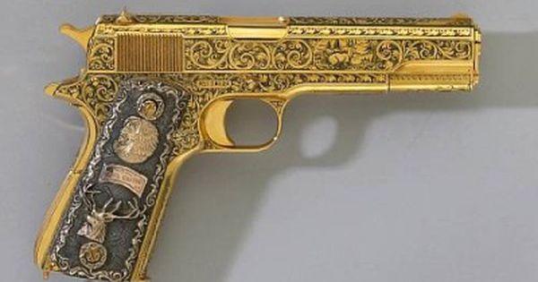 fidel castros golden gun castros elaborate colt