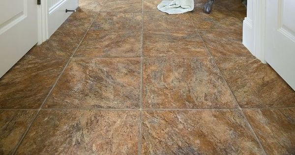 Linoleum that looks like rocks hunter 39 s path by for Lino that looks like tiles