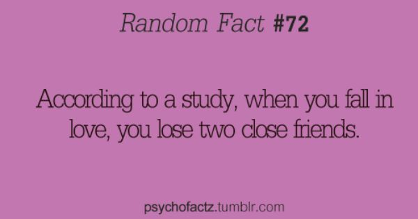 hm.. or you realize who your true friends are :)