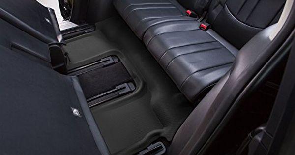 Kagu Rubber Tan 3D MAXpider Third Row Custom Fit All-Weather Floor Mat for Select Mercedes-Benz GL-Class Models